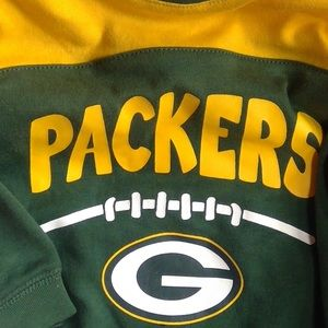 INFANT GREEN BAY PACKERS ONE PIECE OUTFIT.  3/6 mo